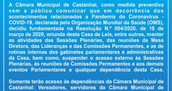 Nota Oficial sobre a Pandemia do Coronavírus (COVID-19) e Resolução