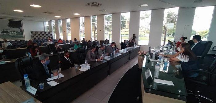 Câmara Municipal realiza o retorno das sessões ordinárias com a presença da Secretária de Saúde para esclarecimento sobre as ações de combate à pandemia